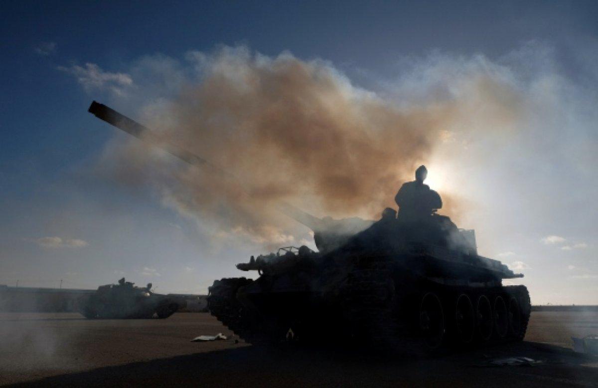 Libya'da milis güçleriyle maskeli çatışma