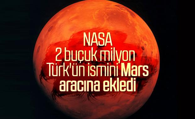 NASA'nın yeni aracı, 11 milyon ismi Mars'a gönderecek