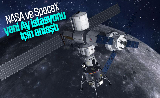 NASA, Ay yörüngesindeki istasyon için SpaceX ile anlaştı