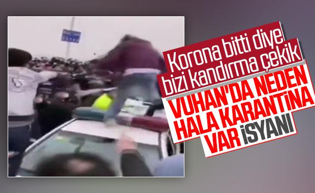 Vuhan'da isyan çıktı