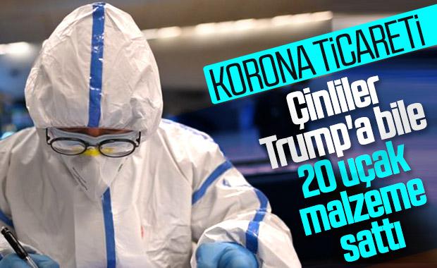 Çin'den ABD'ye 20 uçak tıbbi malzeme
