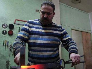 Geleneksel Türk kılıçlarını yeniden üretiyor #1
