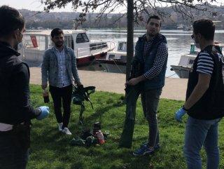 İstanbul'da yasağa rağmen sokağa çıkanlar #1