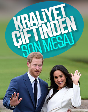 Prens Harry ve Meghan Markle veda etti