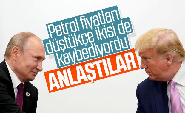 Putin ve Trump petrol krizi konusunda anlaşma sağladı