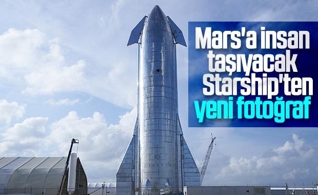 Elon Musk, Starship Mars aracının son durumunu paylaştı