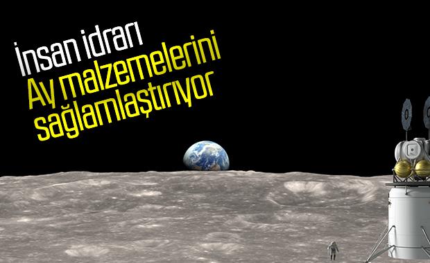 Astronotlar, Ay malzemelerinde kendi idrarlarını kullanabilir