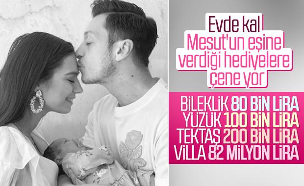 Mesut Özil'den Amine Gülşe'ye doğum hediyesi tapu