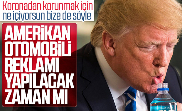 Trump, koronayla boğuşan halkına araba satmaya çalışıyor
