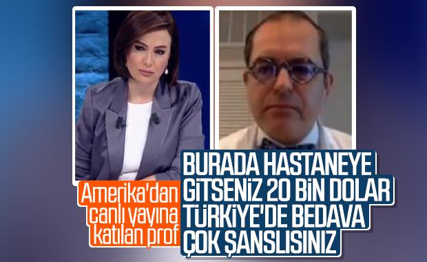 Çilingiroğlu: Siz Türkiye'desiniz çok şanslısınız