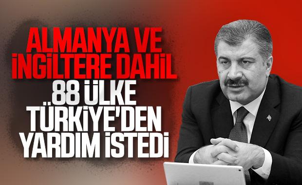 88 ülke, Türkiye'den ekipman desteği istedi