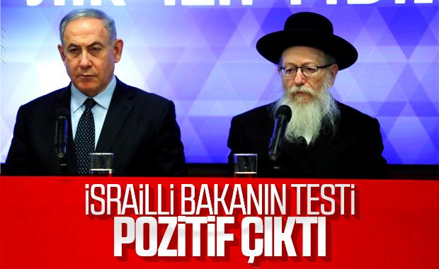 İsrail Sağlık Bakanı'nda koronavirüs tespit edildi