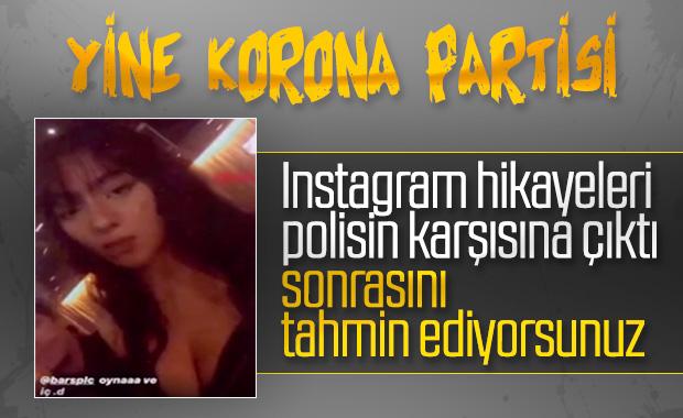 İzmir'de koronaya aldırmadan otelde parti yaptılar