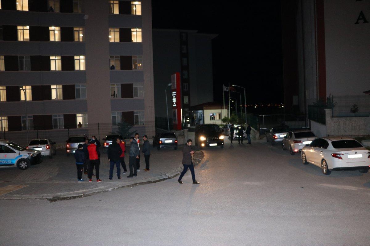 Niğde'de yurt güvenlik görevlisi silahlı saldırıya uğradı