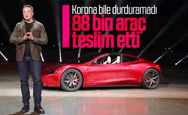 Tesla, koronavirüse rağmen 88 bin araç teslim etti