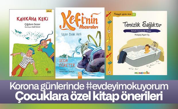 Korona günlerinde çocuklara özel #evdeyimokuyorum kitap öneri listesi