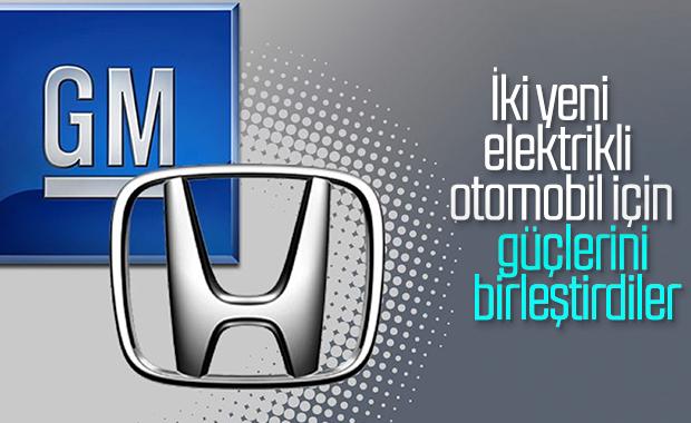 Honda ve General Motors, yeni elektrikli araçlar için anlaştı