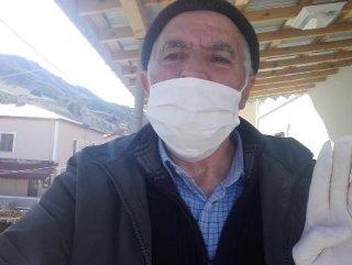 Sivas'ta 60 yaşındaki Ali Amca koronavirüsü yendi