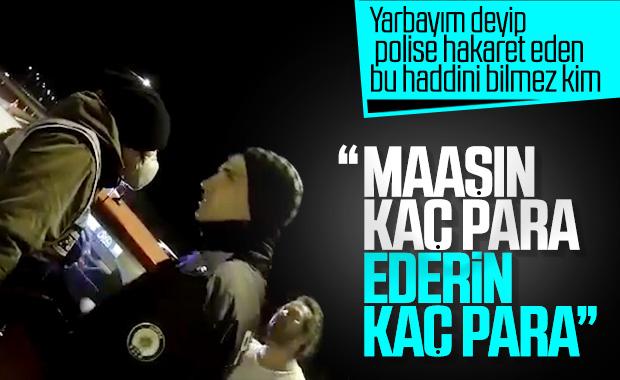 Yarbay olduğunu iddia eden kişiden polise hakaret