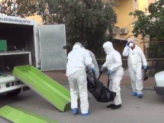 Korona testinden kaçan kişi ölü bulundu