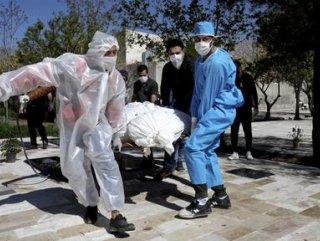 İran'da koronavirüs için mayıs sonuna işaret edildi