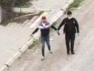Kayseri'de yasağa uymayan gençler yakalandı