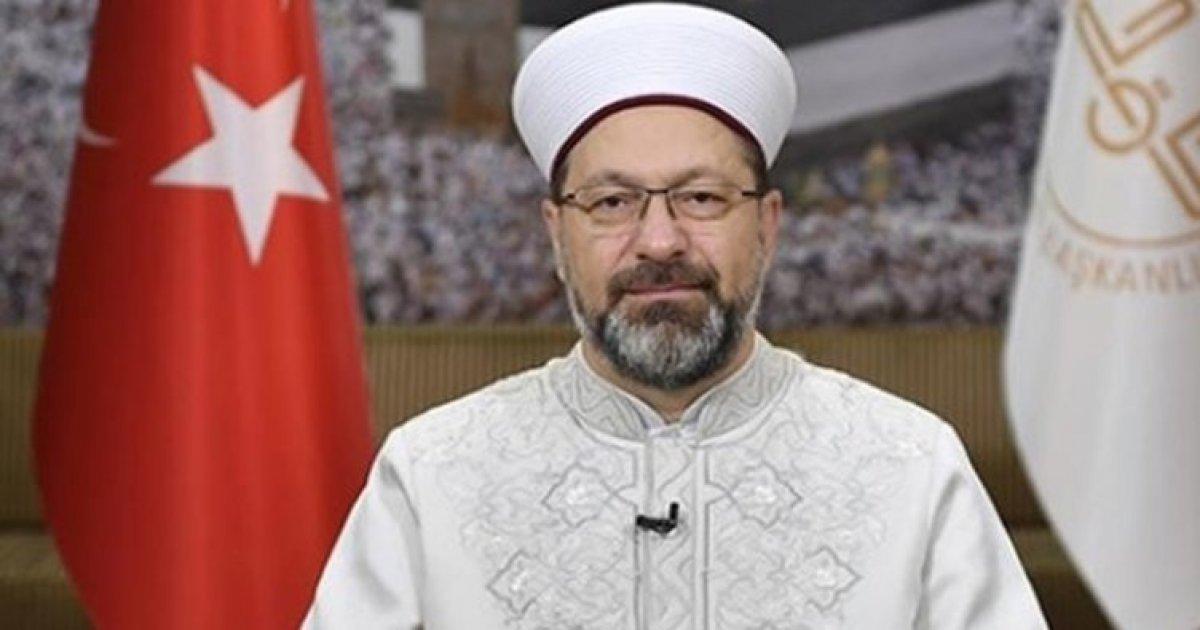 Ali Erbaş'a koronadan ölen sağlık çalışanlarının statüsü soruldu