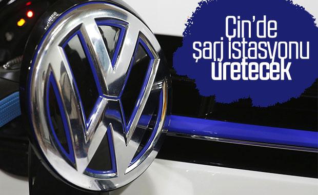 Volkswagen, hızlı şarj istasyonları için Çinli şirketle ortak oldu