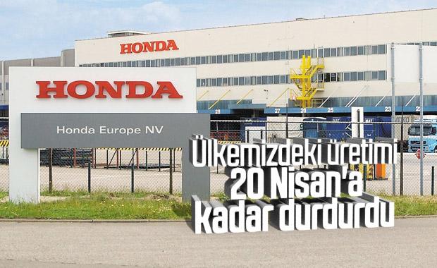 Honda Türkiye, üretime verdiği arayı yeniden uzattı