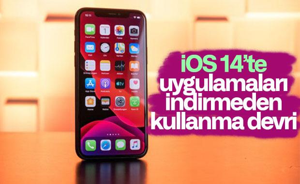 iOS 14, uygulamaları indirmeden kullanmanıza izin verecek