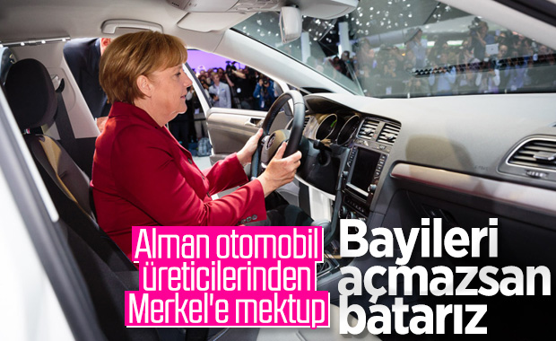 Alman otomobil şirketlerinden batıyoruz mektubu