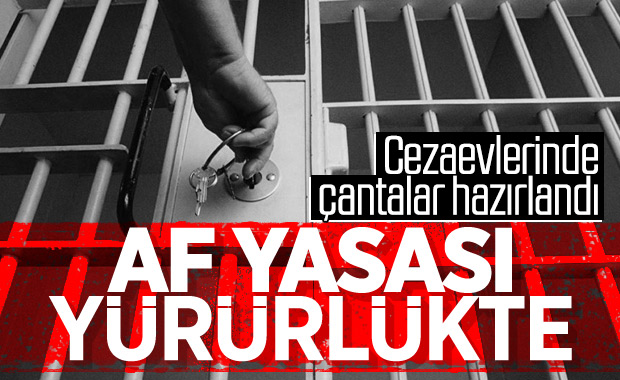 93 bin mahkumun tahliye olacağı af yasası yürürlüğe girdi