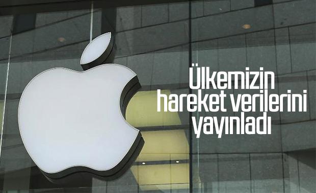 Apple, ülkemizdeki hareketlilik verilerini açıkladı