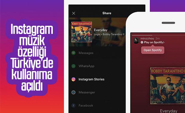 Instagram'ın müzik özelliği ülkemizde kullanıma açıldı