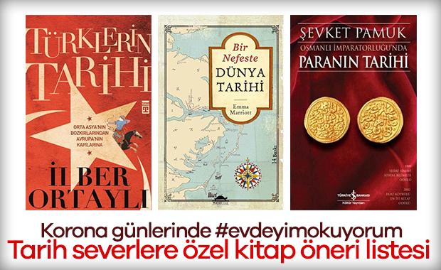 Korona günlerinde tarih severlere özel #evdeyimokuyorum kitap öneri listesi