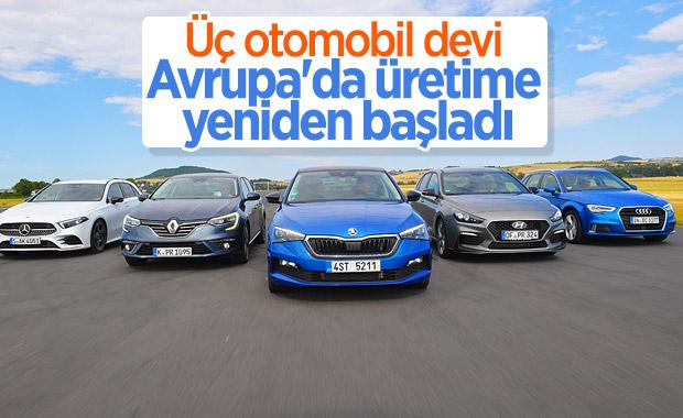 Hyundai, Renault ve Audi Avrupa'da yeniden üretime başladı
