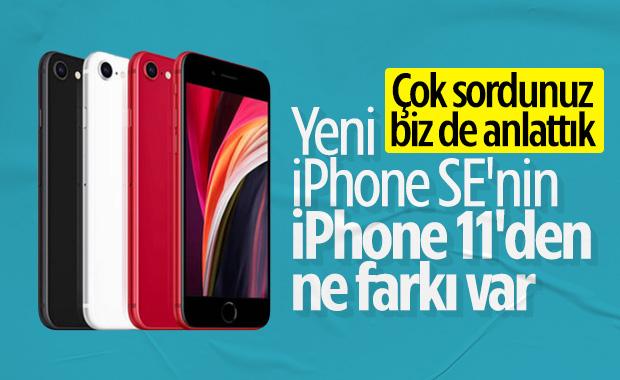 iPhone SE 2020 ve iPhone 11 arasındaki farklar