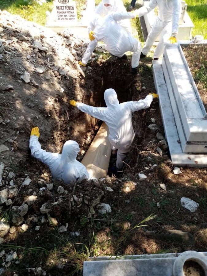 Zonguldak'ta gömülü taçtan ölen kadının akrabaları