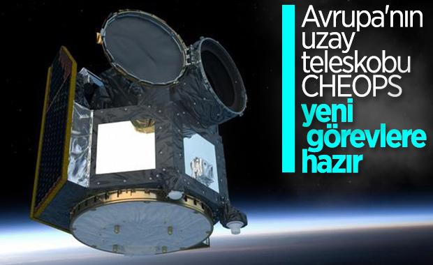 Avrupa'nın gezegen avcısı CHEOPS, ilk dış gezegenini gözlemledi