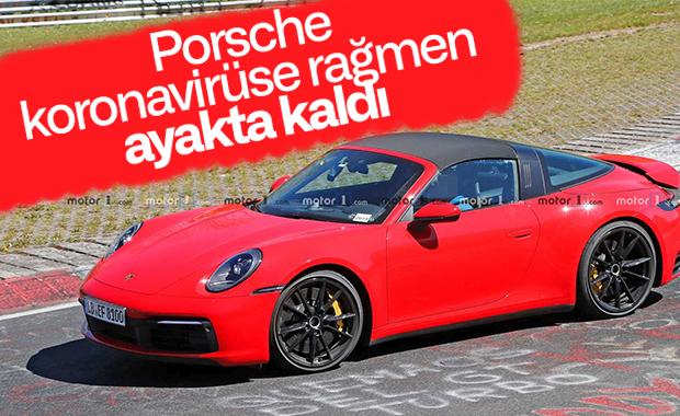 Porsche, 2020'nin ilk çeyreğine ait satış rakamlarını açıkladı