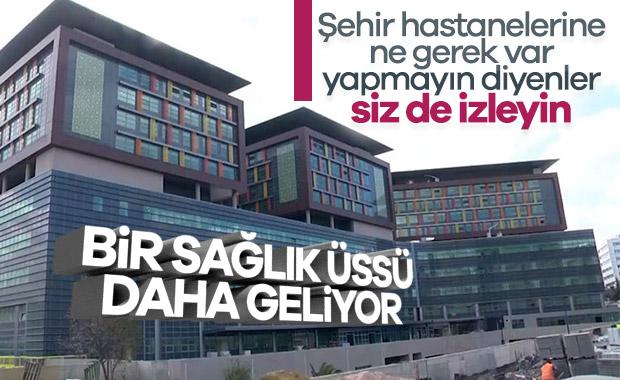 Göztepe Şehir Hastanesi'nin yüzde 90'ı tamamlandı