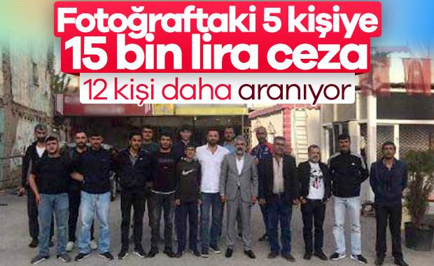 Elazığ'da toplu fotoğraf çektirenlere 15 bin lira ceza