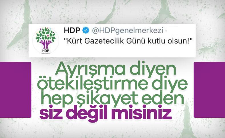HDP, gazeteciliği de ayrıştırdı