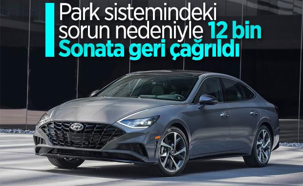Hyundai, 2020 Sonata modellerini geri çağırdı
