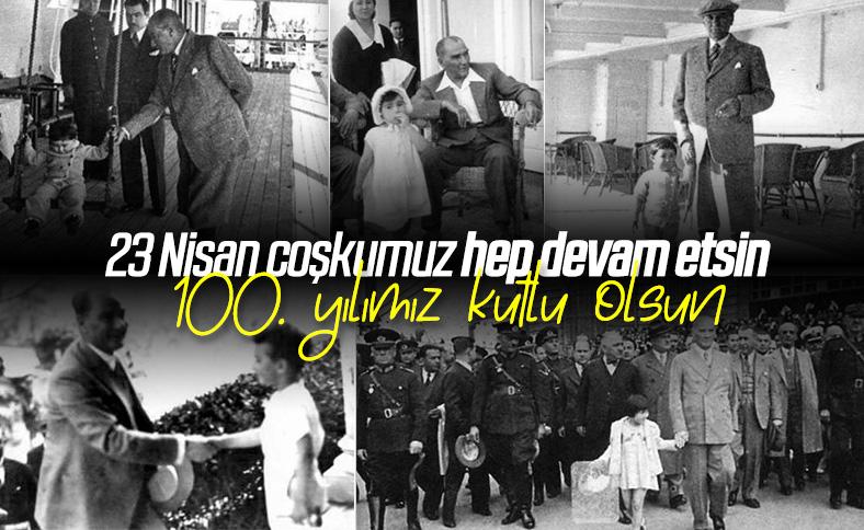 Canım 23 Nisan, 100. yılımız kutlu olsun