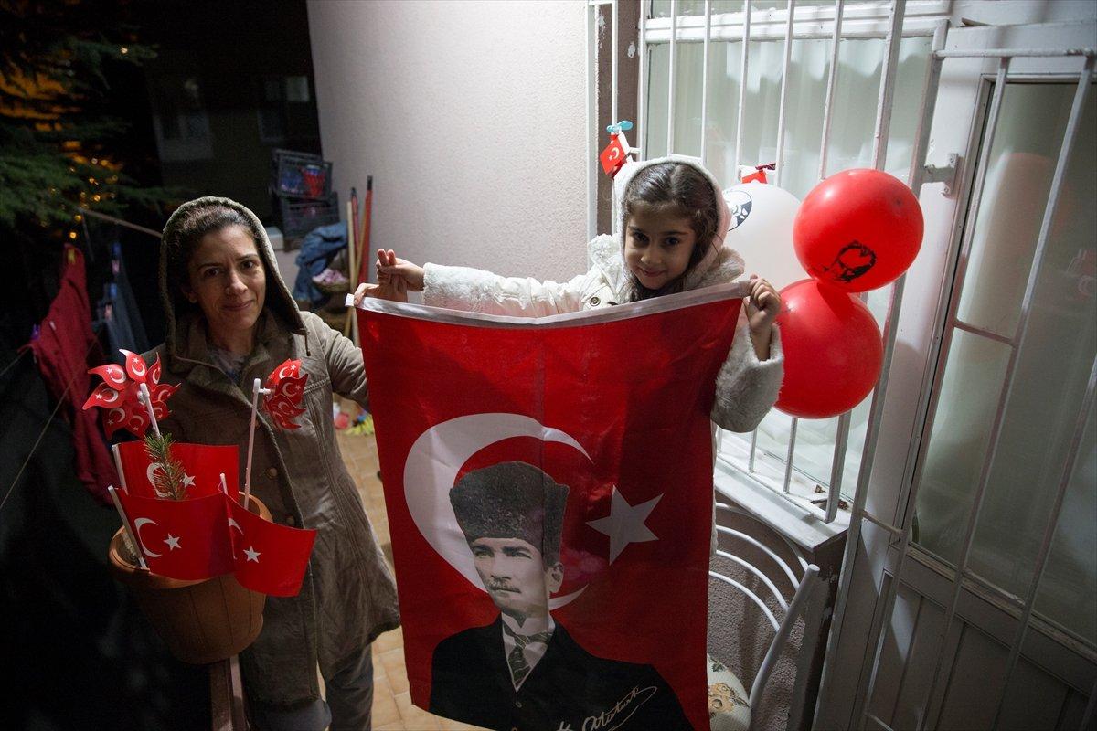 Yurtta İstiklal Marşı coşkusu
