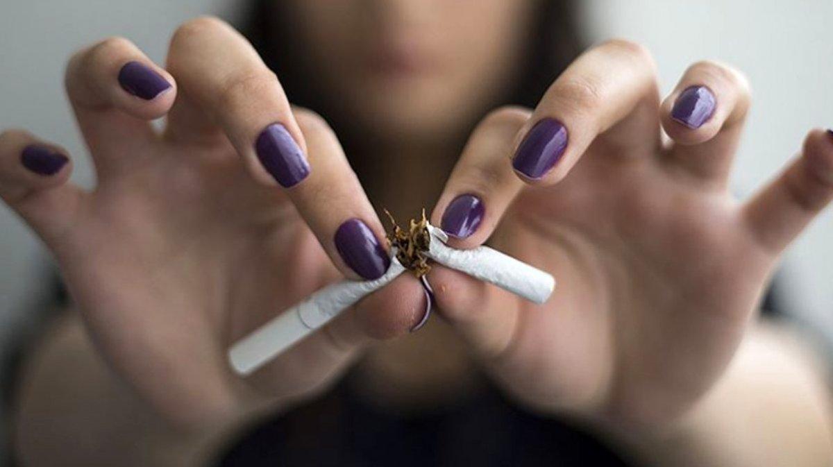 Ramazan'da sigarayı bırakın uyarısı geldi