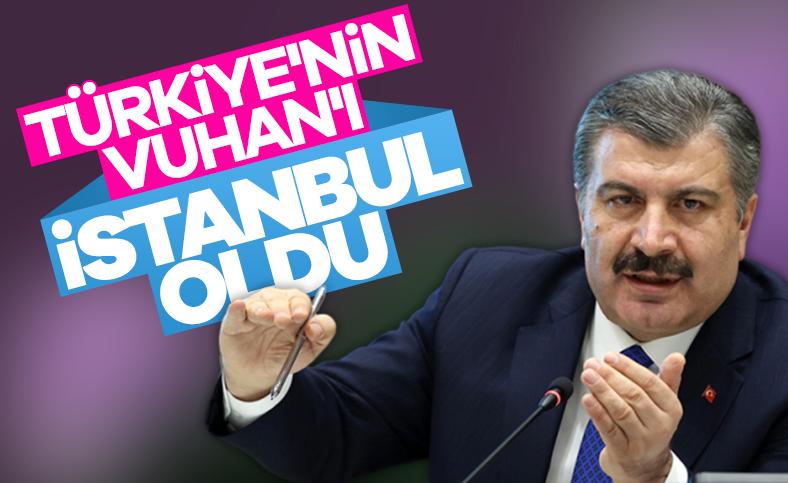 Bakan Koca'dan korona ile mücadelede İstanbul itirafı