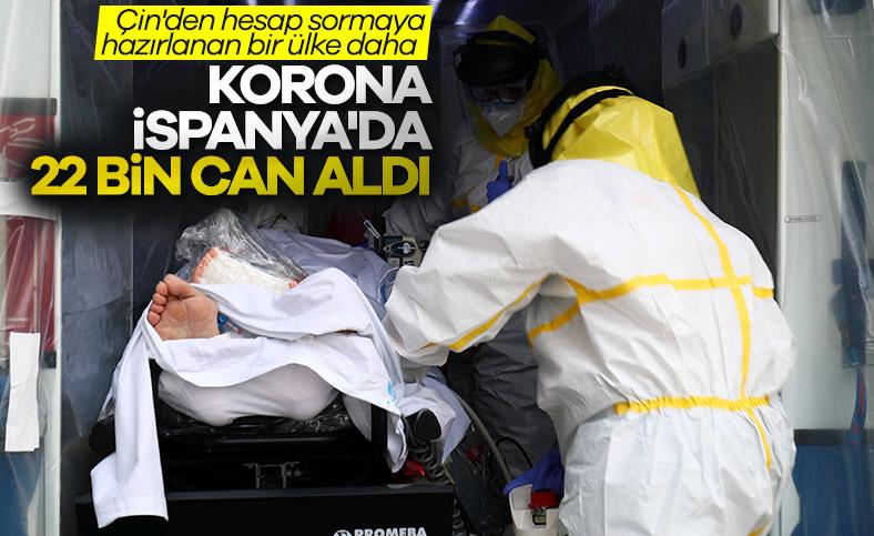 İspanya'da korona bilançosu:  22 bin 524 ölü