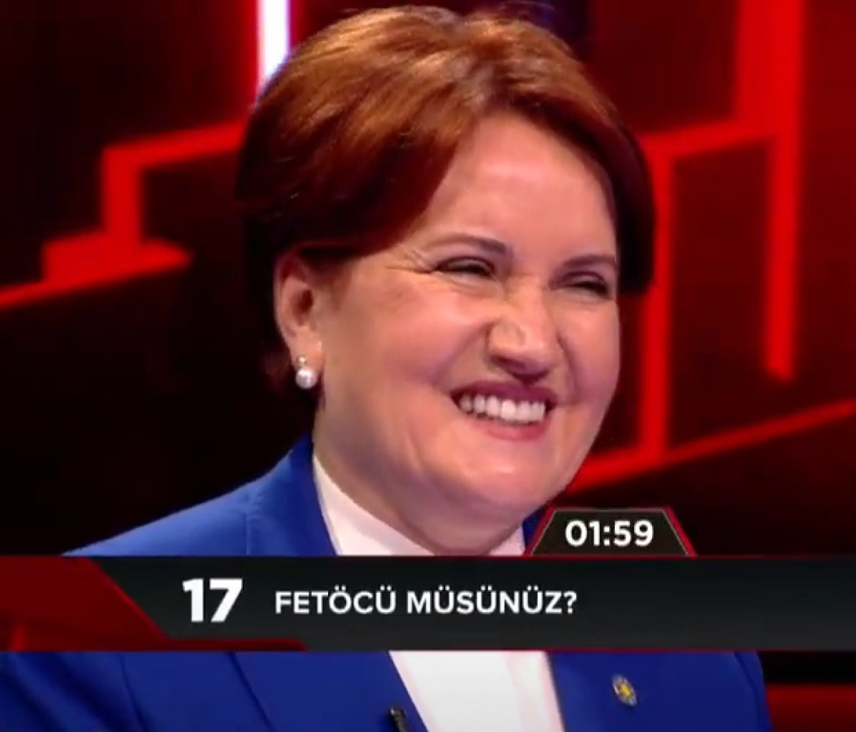 Meral Akşener'e FETÖ'cü olup olmadığı soruldu
